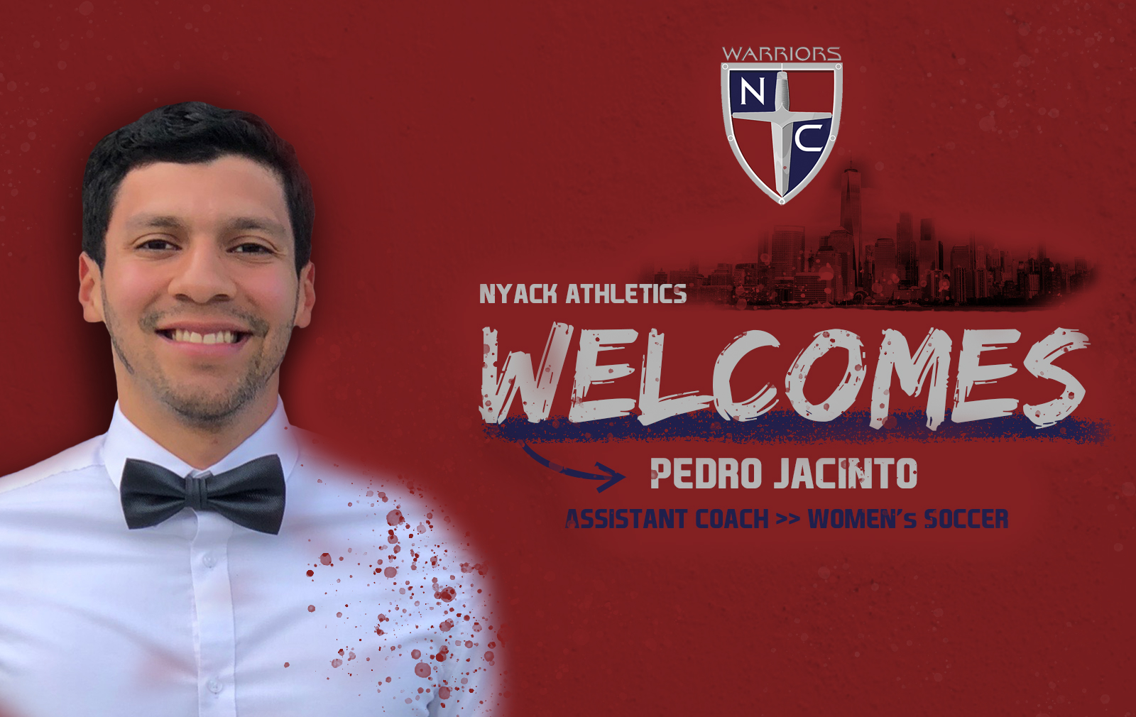Women's Soccer Adds Pedro Jacinto to Coaching Staff