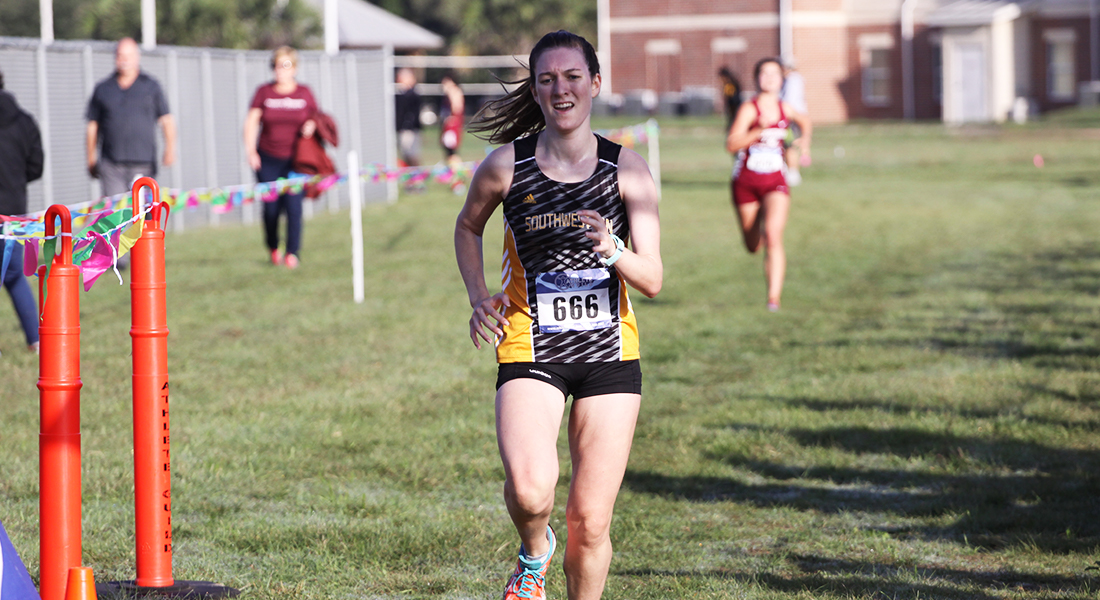 Women's Cross Country End Season at SCAC Cross Country Championship