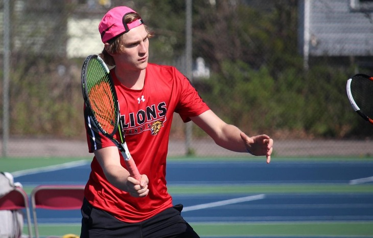 Men's Tennis Defeats Drew, 8-1, in Battle of Unbeatens