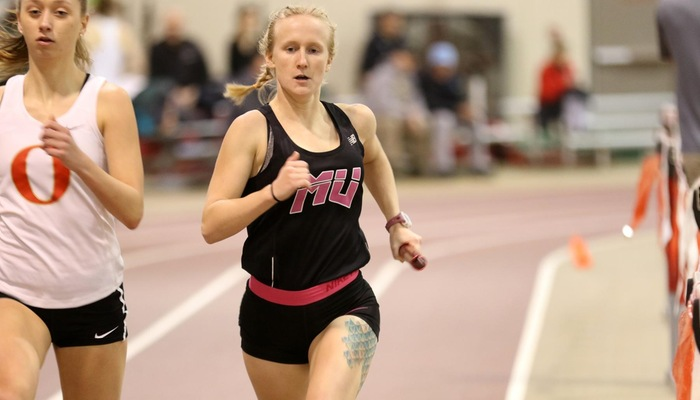 Women's Indoor Track and Field sets two school records at All-Ohio Championships