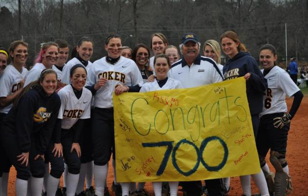 Coker's Hanna Joins 700 Win Club
