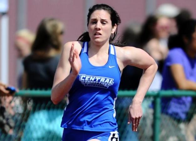 Women's T&F Competes at Holy Cross