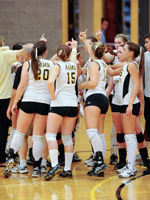 Volleyball Earns Second Seed in MASCAC Tournament