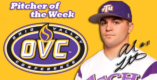 After dominating performance Tech's Liberatore named OVC Pitcher of the Week