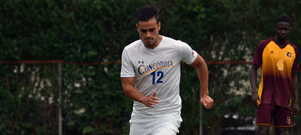 Concordia Men's Soccer Edges Post, 3-2