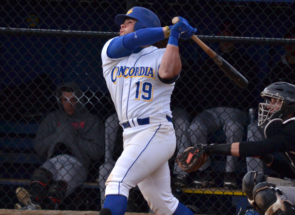 Concordia Sweeps Post in CACC Doubleheader, 4-1 and 5-2