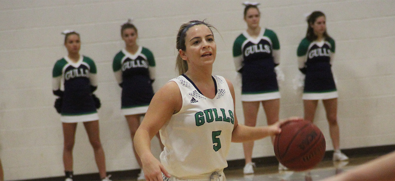 Coppola Notches First Career Double-Double As Gulls Down WIT, 58-44