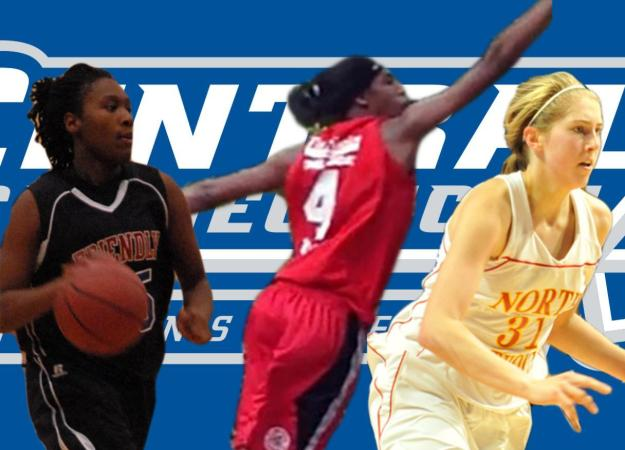 Three Sign with Women's Basketball