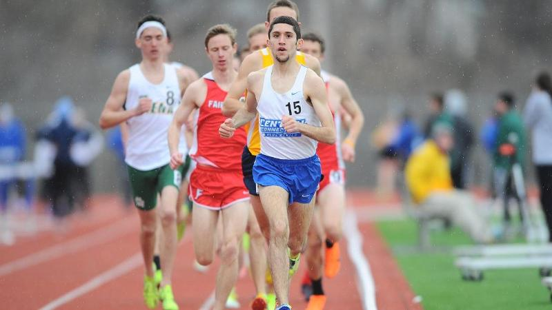 Men's Track Competes at Monmouth