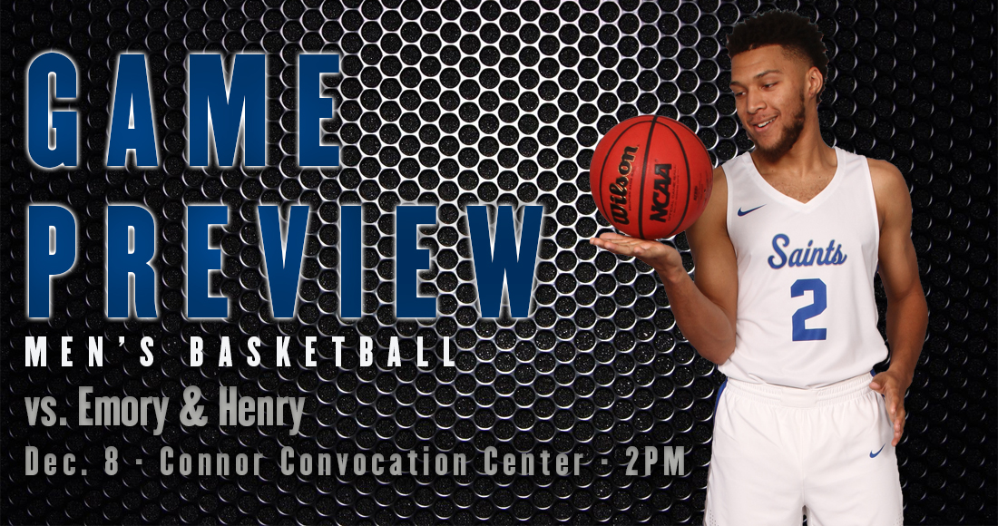 Men's Basketball Hosts Emory & Henry Saturday Afternoon