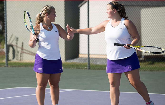 Women's Tennis Closes Home Slate with 6-3 Loss to Bentley