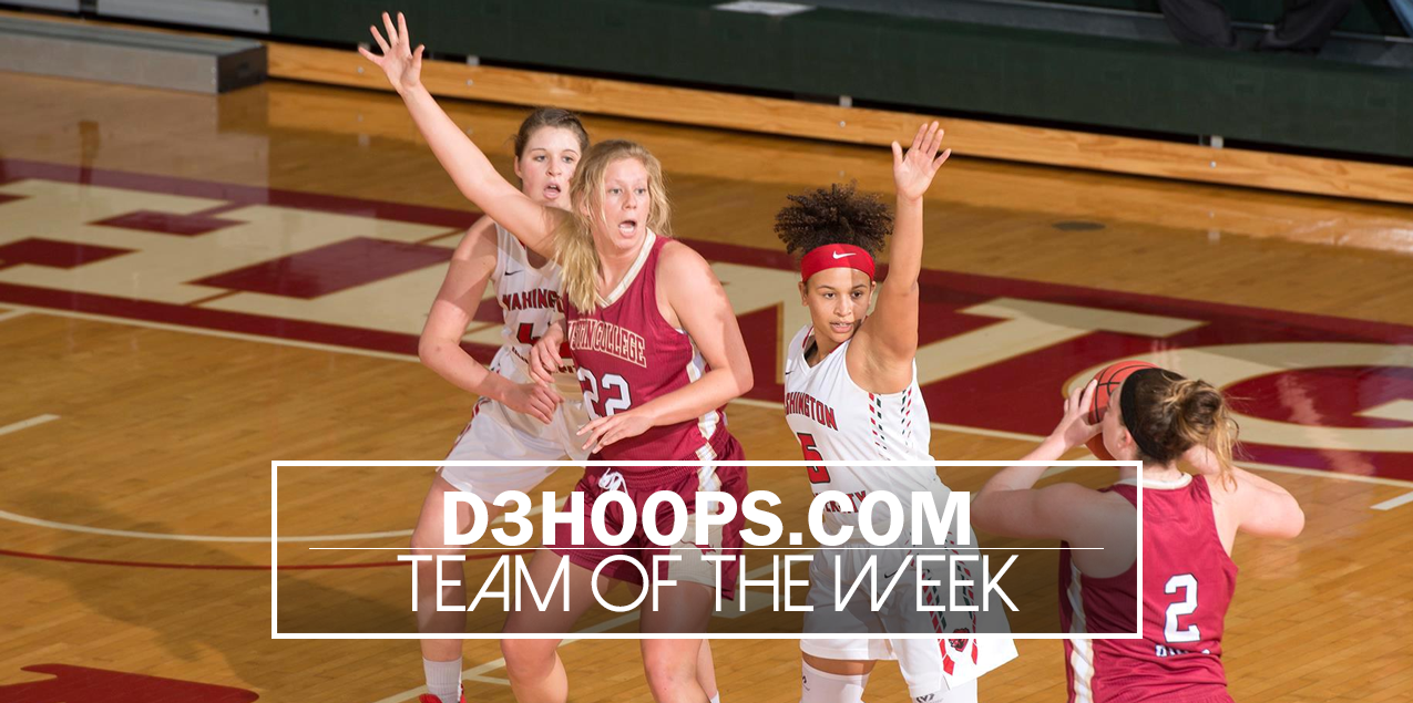 Austin College's Frank Earns Third D3Hoops.com Team of the Week Honor