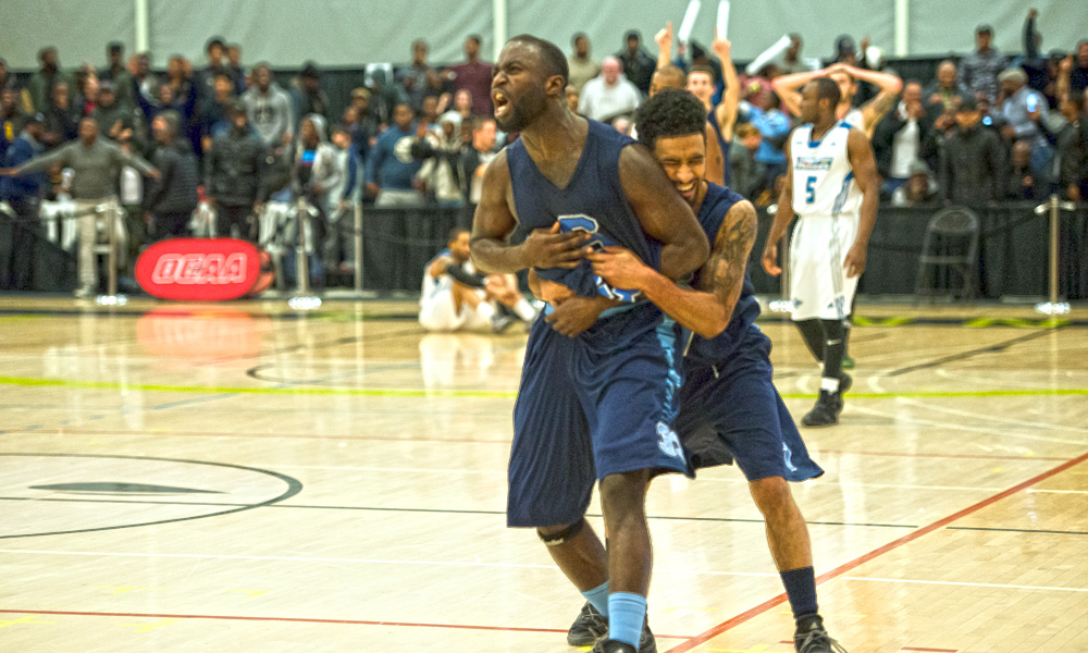 Men's basketball claim OCAA Championship with thrilling win over George Brown