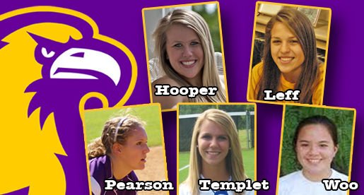 Golden Eagle softball team nets five signees from five different states