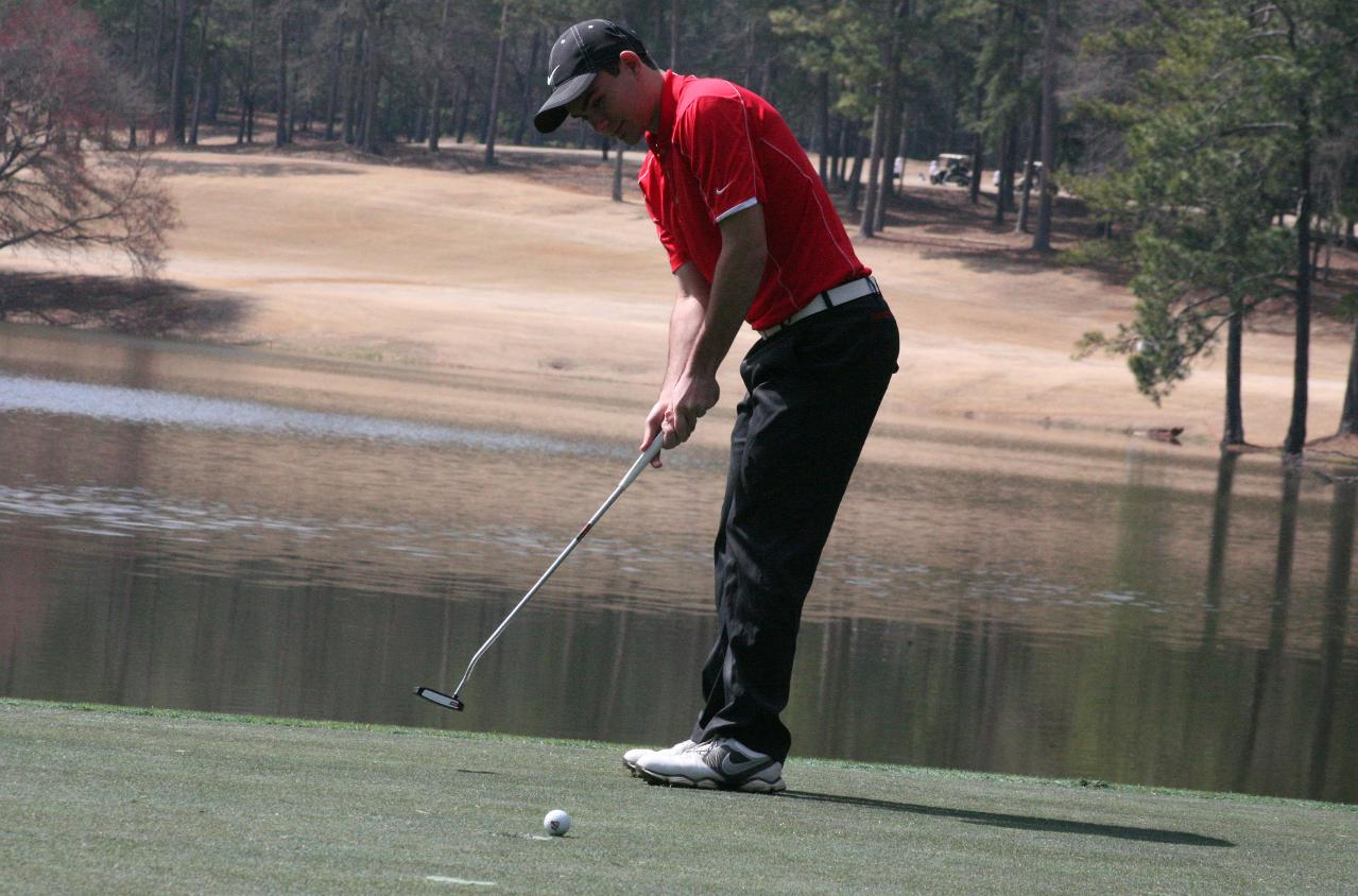 Golf: Panthers third after first round of Callaway Collegiate Invitational