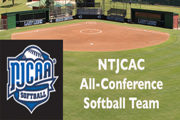 2017 NTJCAC All-Conference Softball Team
