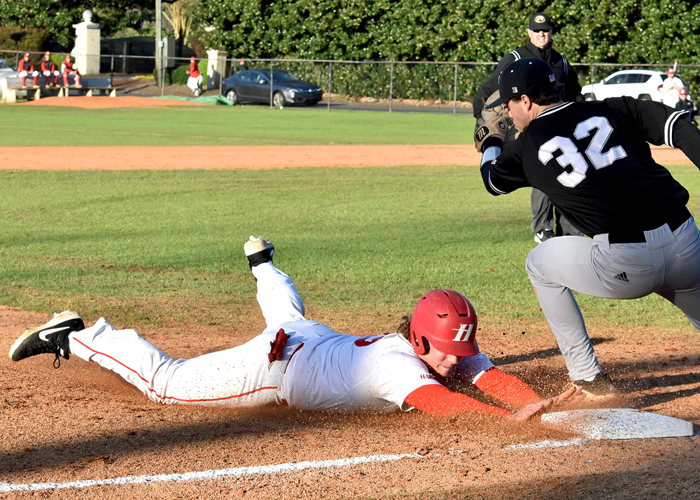Heath Haskins was 1-for-3 with two RBIs and a stolen base in Wednesday's 5-4 win over Rhodes.