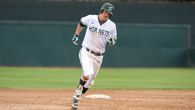 OFFENSE ERUPTS IN BASEBALL'S 10-3 SERIES-CLINCHING WIN OVER UTAH VALLEY