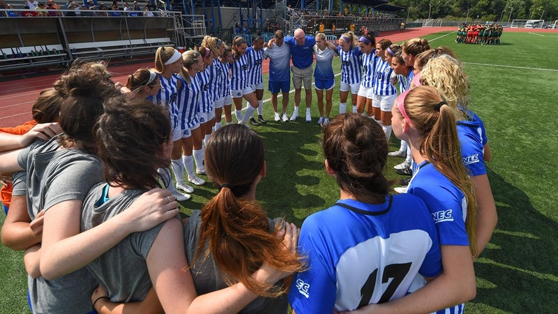 Women's Soccer to Face Fairleigh Dickinson in NEC Semifinal Friday