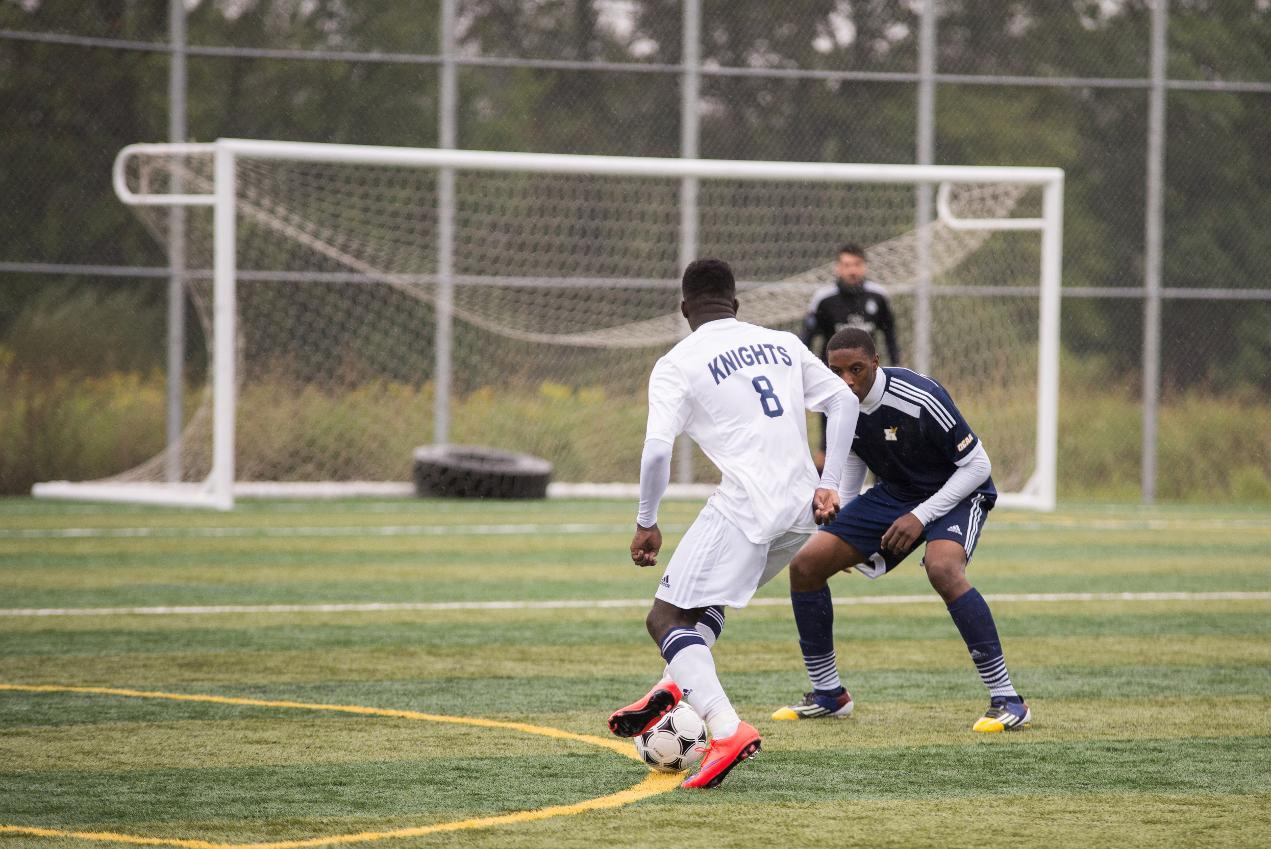 PHOTOS: Knights Men's Soccer vs. Humber - Niagara College