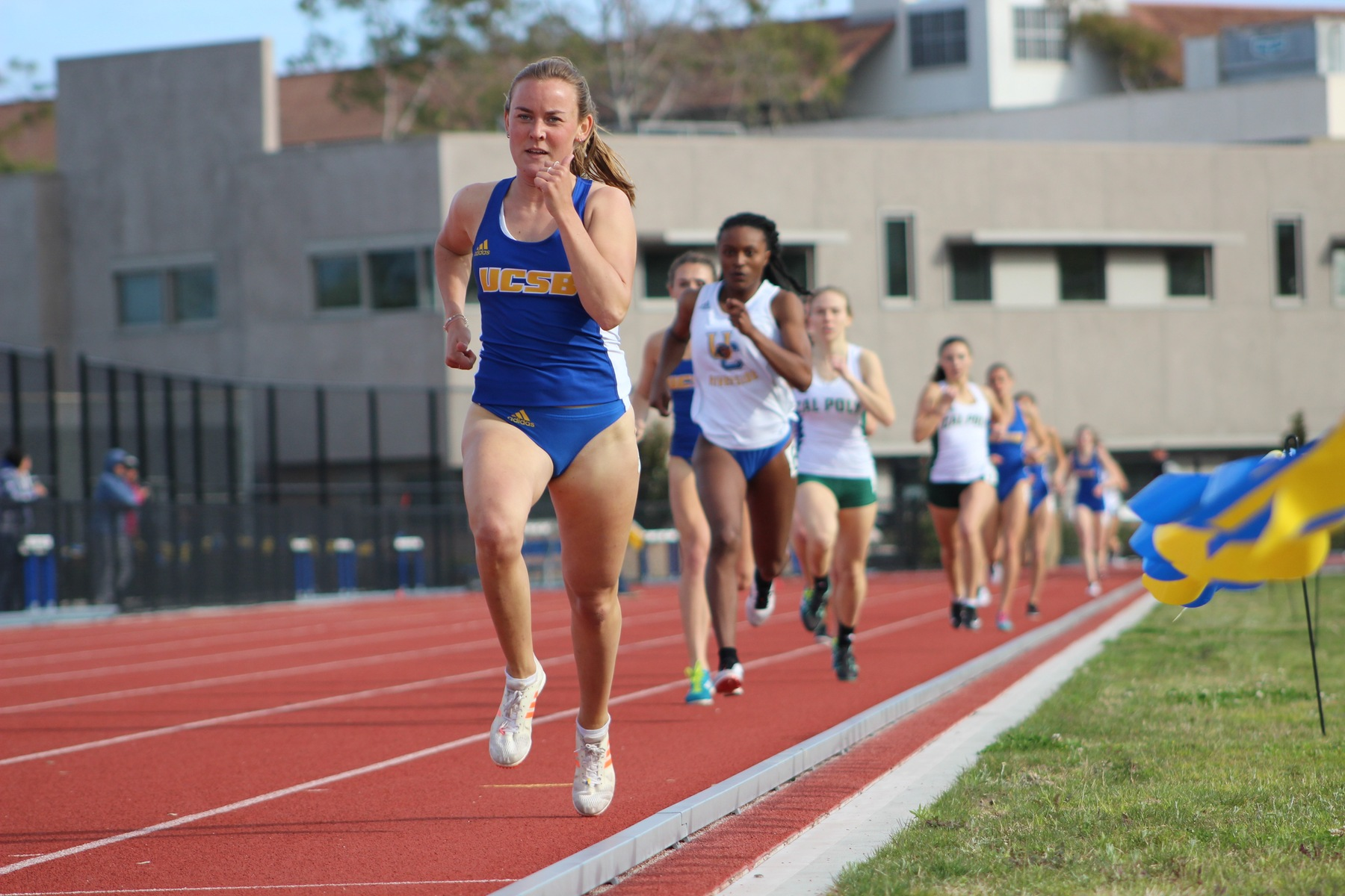 Men and Women take Victories over Cal Poly and UC Riverside at Home Meet