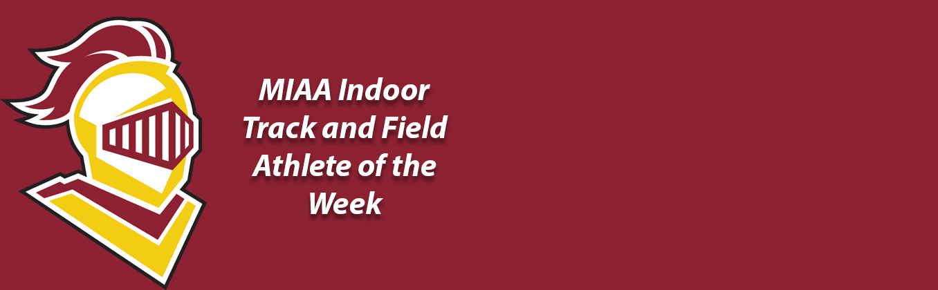 Jordan Kramer Named MIAA Men's Indoor Track and Field Athlete of the Week