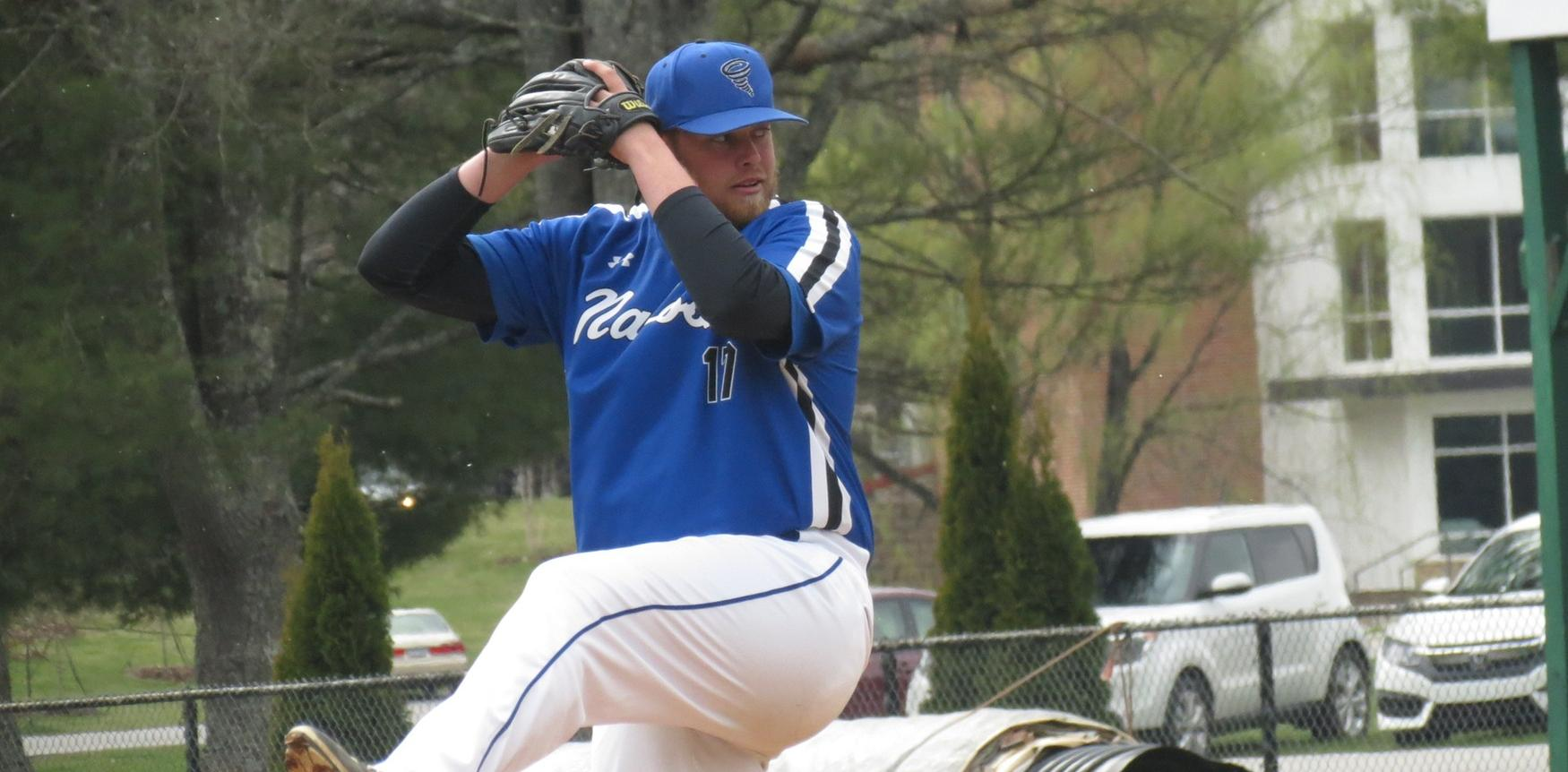 Merryman's Stellar Outing, Seventh-Inning Rally Lifts Tornados over Wasps