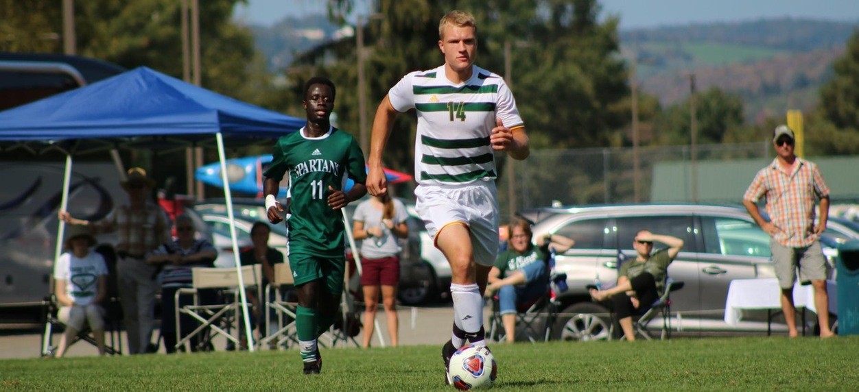 Lyndon Men's Soccer plays Maine Maritime to an overtime draw