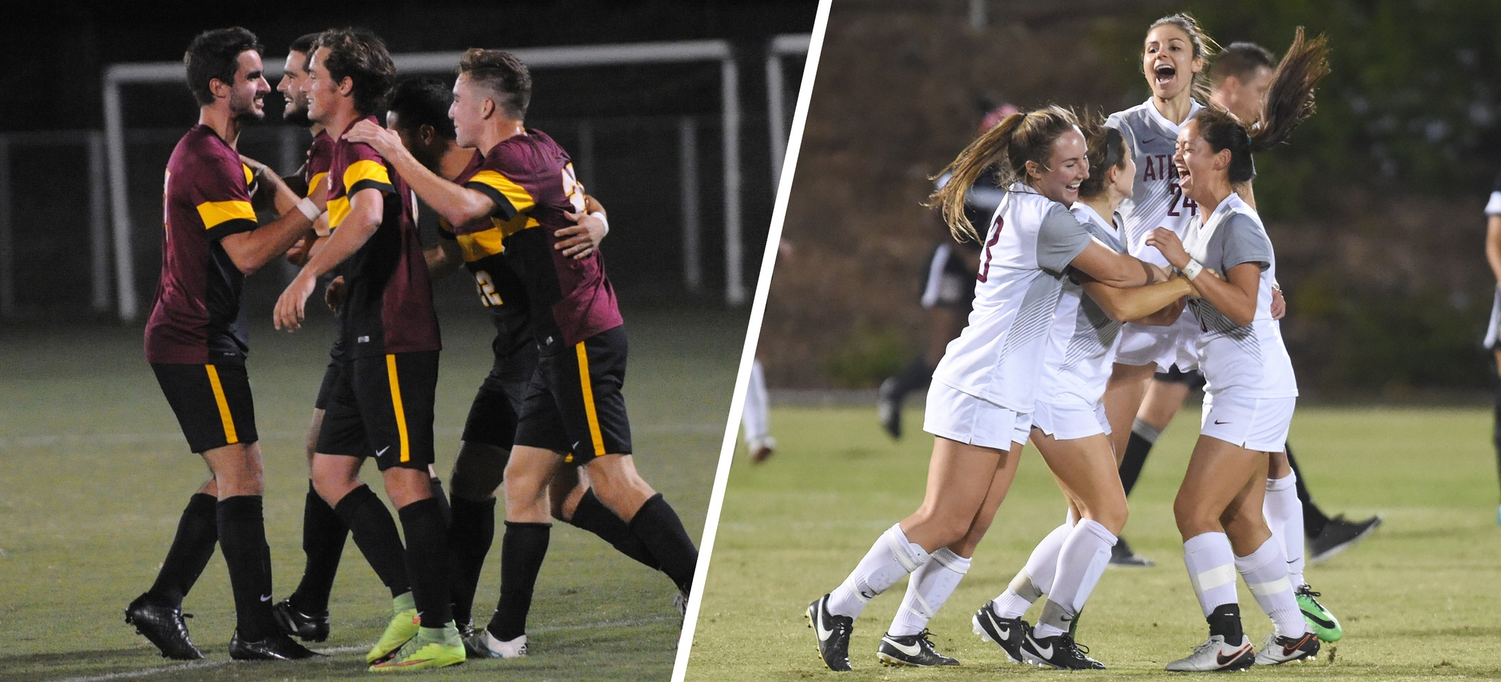 Stags and Athenas Soccer Receive Team Academic Award