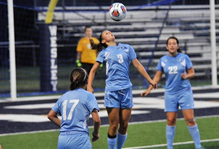 Wesley Battles to Scoreless Tie with Hood