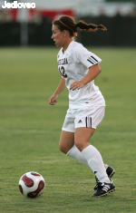 Women's Soccer Midfielder Kendra Perry Named WCC Player of the Week