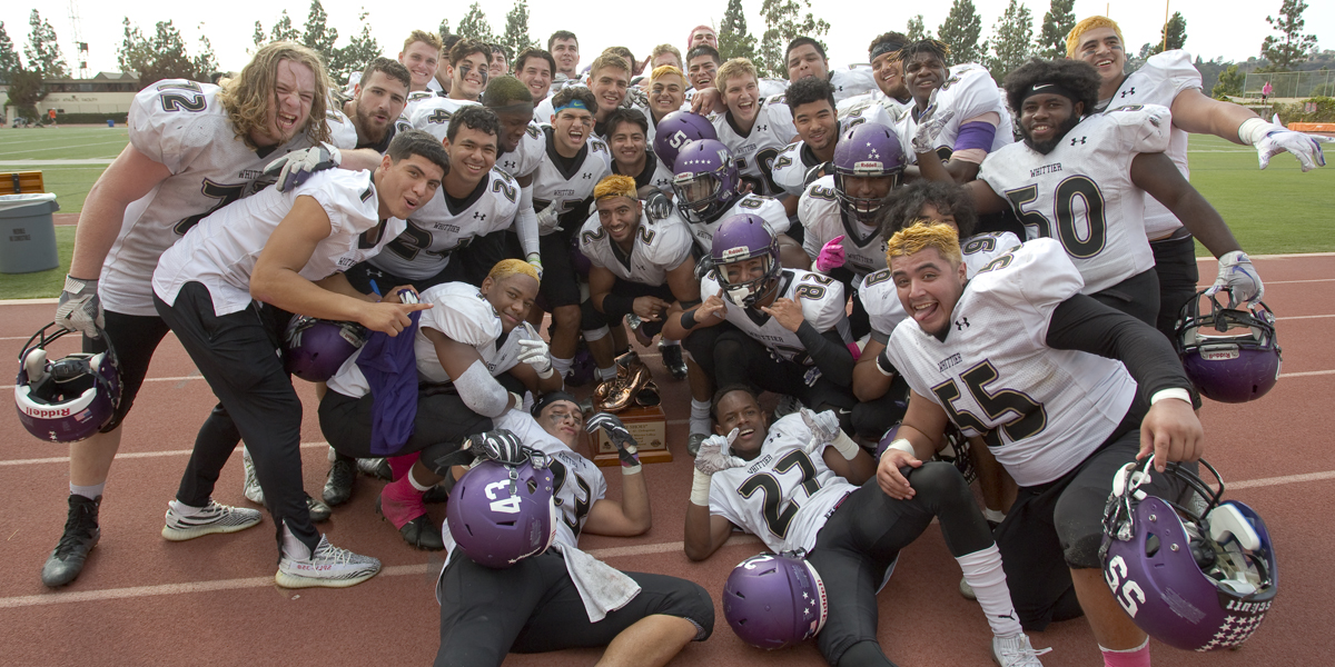 "Football Holds ""The Shoes"" Beating Oxy 28-13"