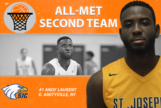 Laurent Named to All-Met Second-Team