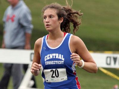 CCSU Women's Track & Field Compete at URI