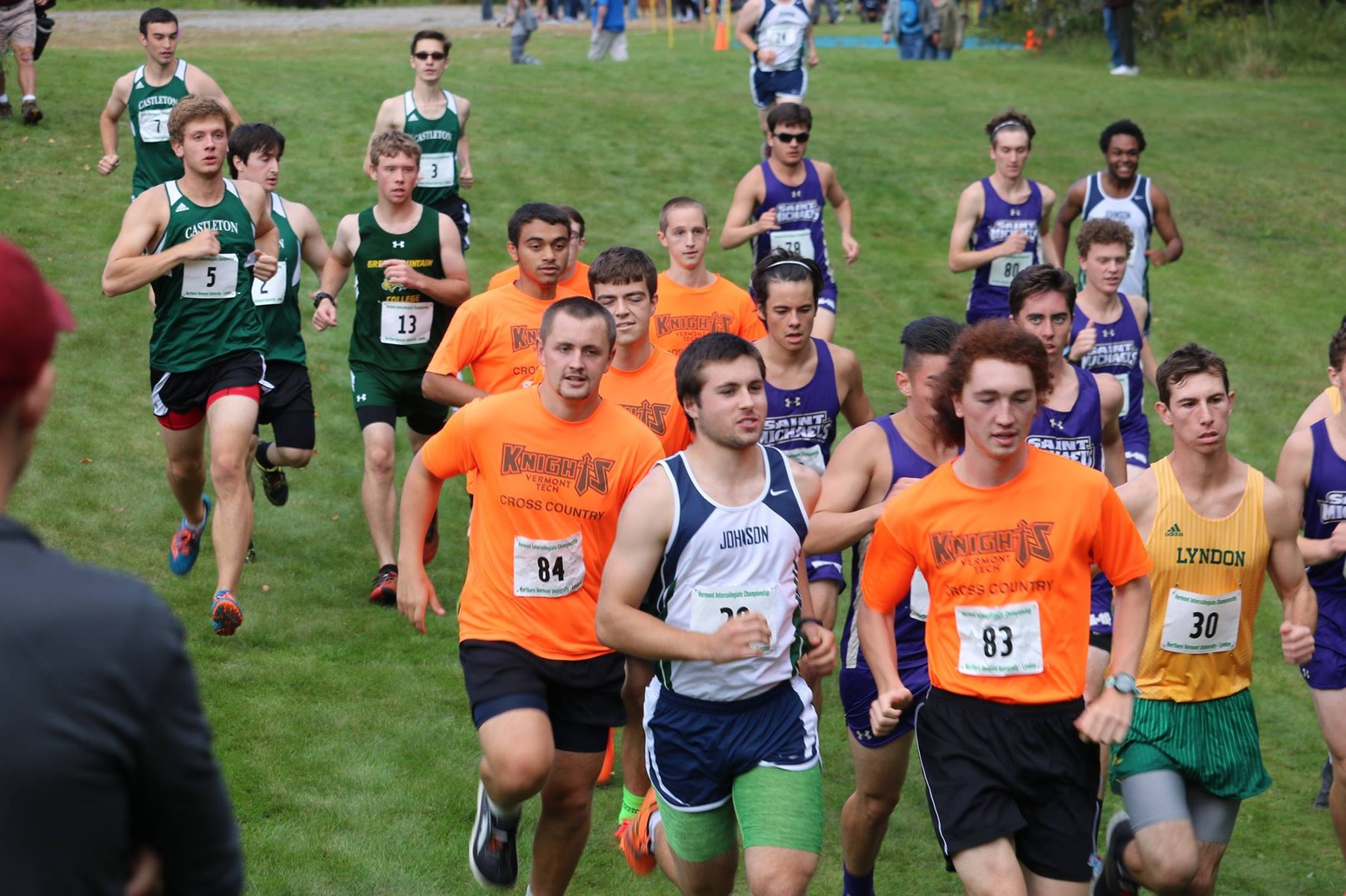 Cross Country competes at Vermont State Collegiate Meet