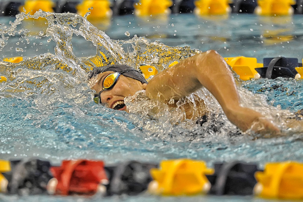 Confer Leads Upb Women 39 S Swim To Victory At Alfred State University Of Pittsburgh Bradford