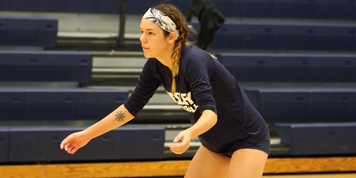 Volleyball stumbles against No. 24 CNU