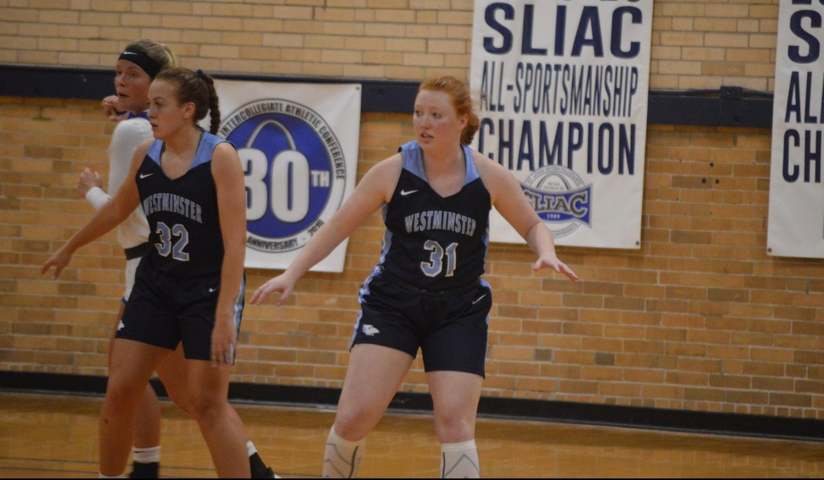Westminster Women's Basketball Team Stays Atop Logjam in SLIAC Standings With Big Win Over Blackburn