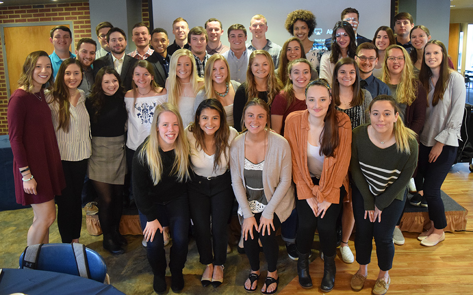 Moravian honored 62 student-athletes at its 2019 Chi Alpha Sigma National Athlete Honor Society Luncheon on March 29.