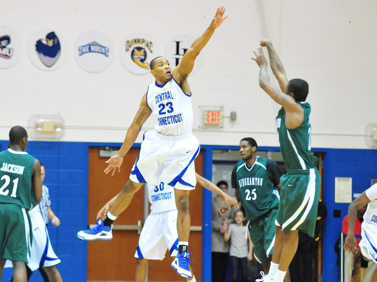 Sophomore David Simmons Matches Career High in Blue Devil Defeat on Thursday