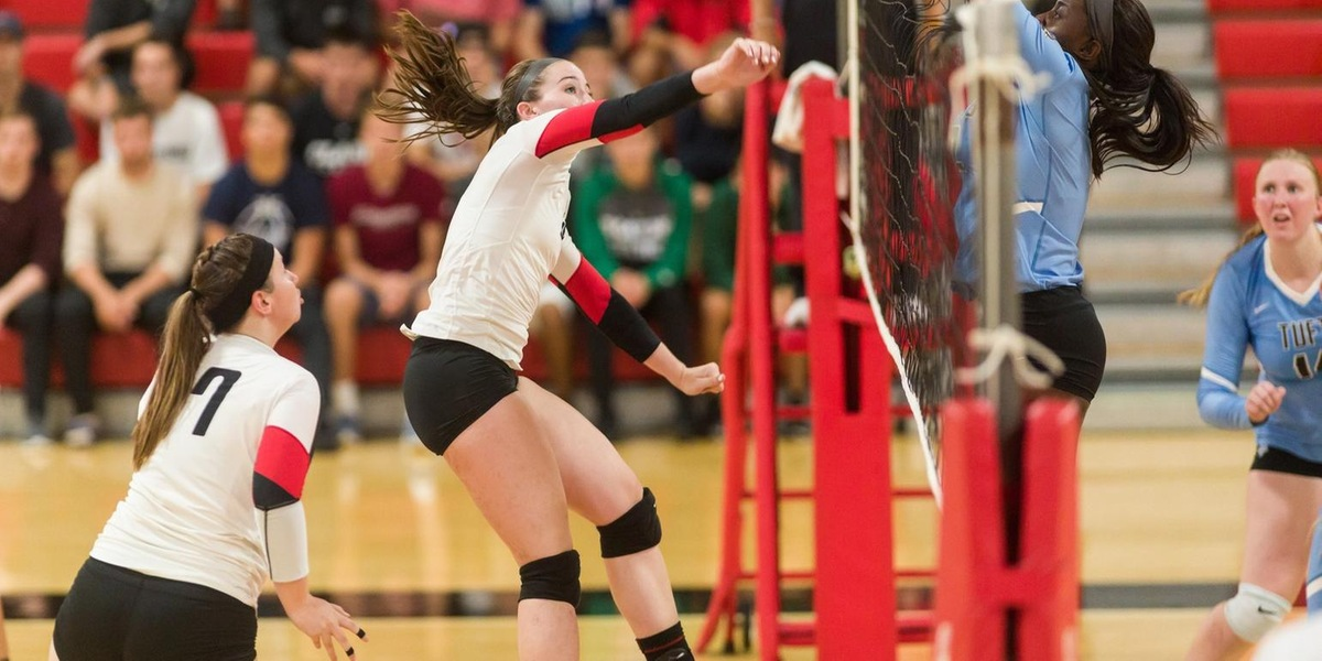 Volleyball Suffers Five-Set Loss to Springfield