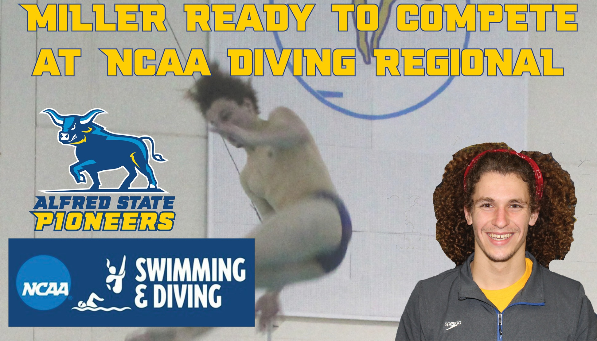 Austin Miller Ready to compete at NCAA Diving Reigonal