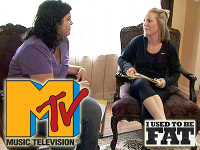 Former Bulldog Katie Loosvelt (right) appears on the show with Gabriella (left).  Photo and images courtesy of MTV.com