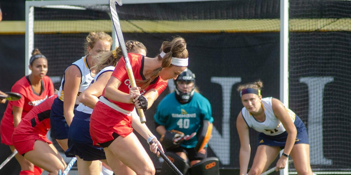 Field Hockey Defeated by Nichols at Home