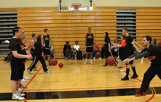 Wentworth Hosts Special Olympics Basketball Event