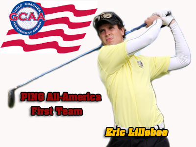 Eric Lilleboe Named A Division II Men's Golf All-American