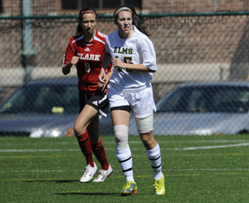 Three First Half Goals Lift Women's Soccer Over Bay Path College, 4-0