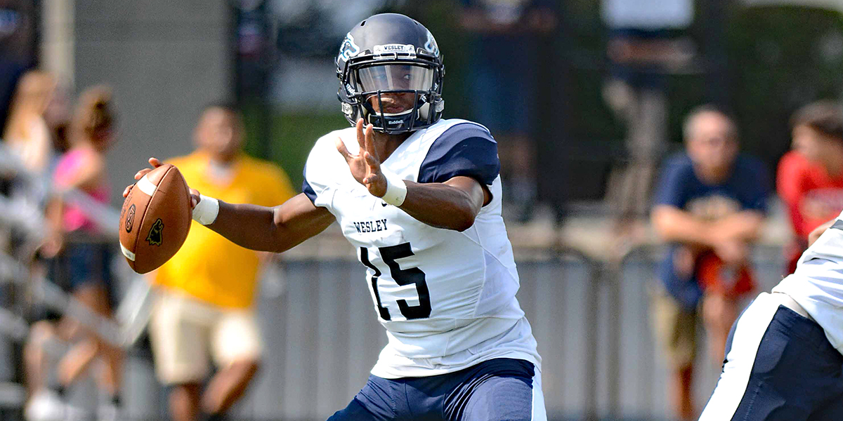 Blocked kick propels No. 19/20 Wesley over No. 11/9 Frostburg St. in overtime