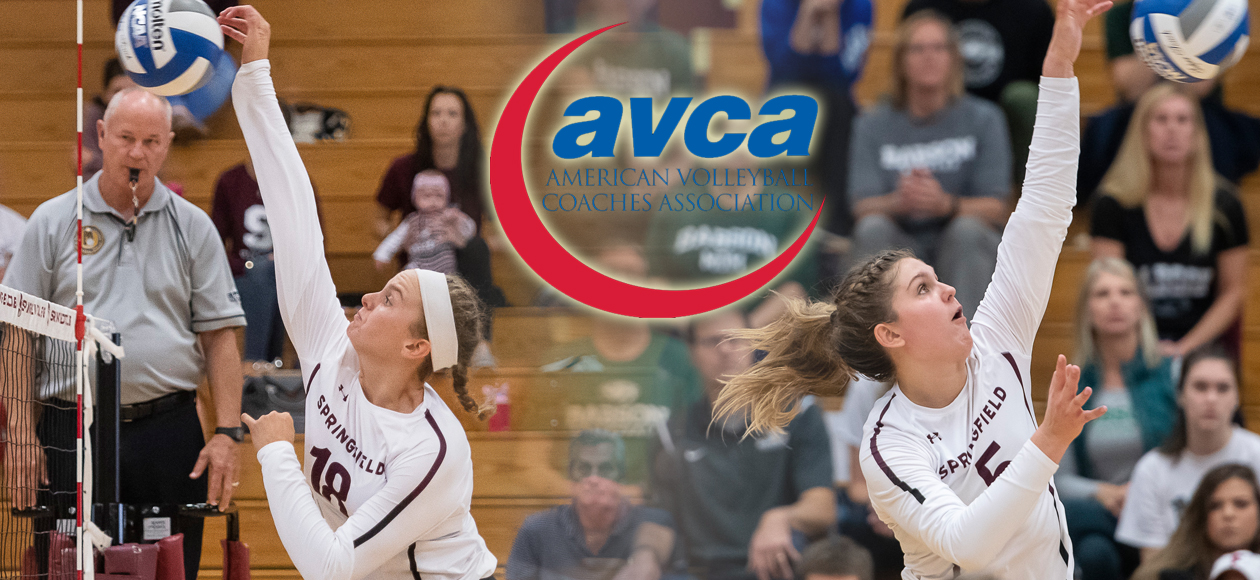 Bancroft and Donnelly Garner AVCA Division III New England All-Region Honors