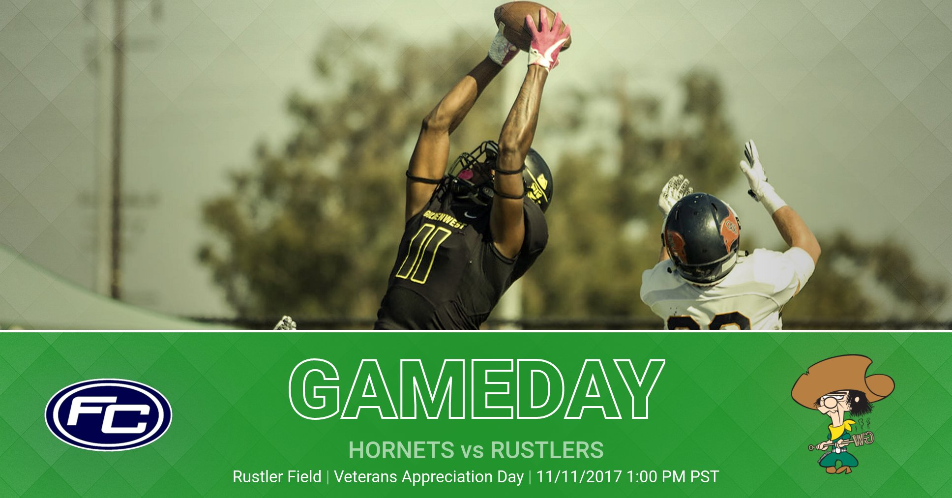 Veterans Appreciation Day Saturday as the Rustlers Take on #1 Hornets